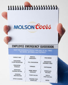 Help keep everyone on the same page during an emergency, with our easy to use, affordable emergency response guidebooks